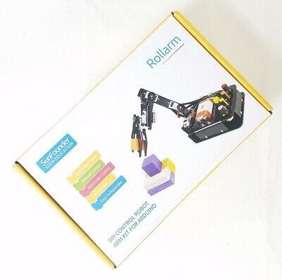 Sunfounder Robotic Arm Edge Kit For Arduino R3 - An Robot Arm To Learn Stem E...