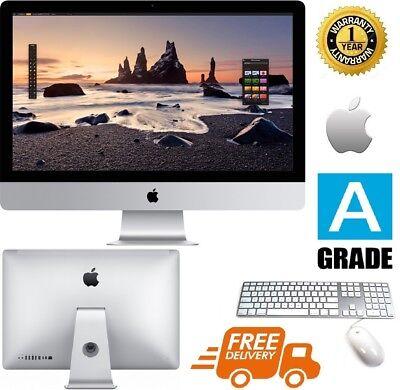 """Apple iMac 27""""(i5)(1TB HDD - 16GB RAM) - Sierra iOS - A grade (*) Apple Keyboard"""