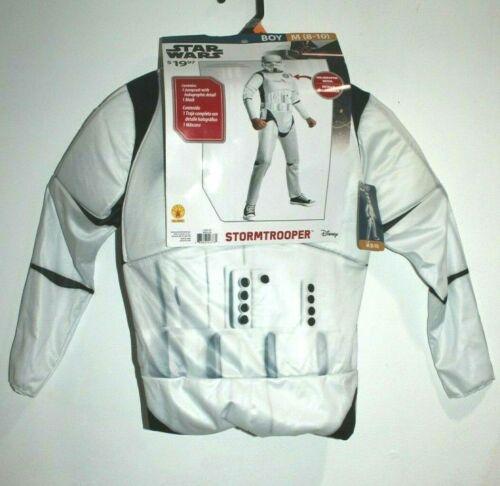 STAR WARS STORMTROOPER W/ HOLOGRAPHIC DETAIL HALLOWEEN COSTUME BOY MEDIUM(8-10)