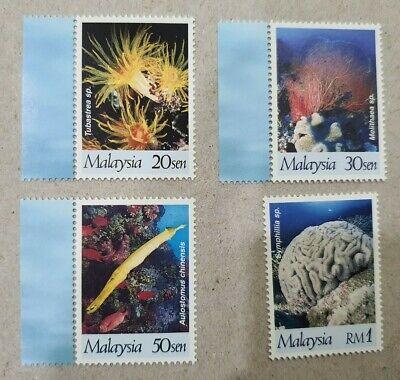 Malaysia 1997 International Year of The Reef MINT MNH