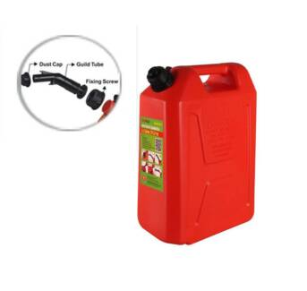 NEW- 20L Jerry Can Tough Plastic Red Tank Spill Proof Spout Malaga Swan Area Preview