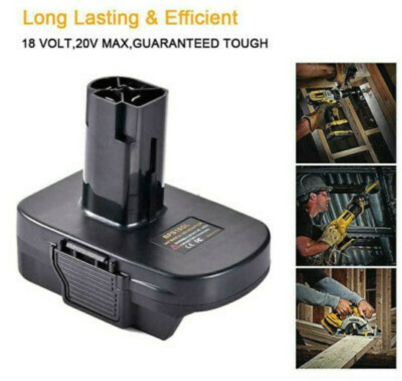 Battery Adapter For CRAFTSMAN BPS18GL Converter Compatible With Electrical DOTE