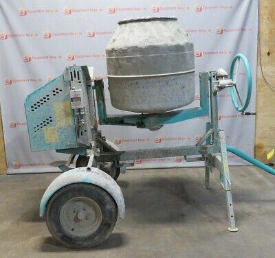 Imer Workman Ii 250 Cement Mixer Portable Mortar Mix Electric 9 Ct. Feet