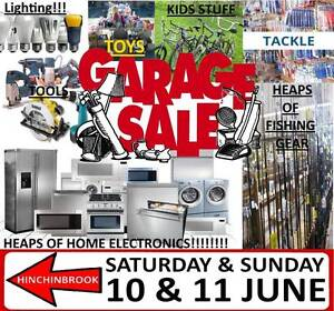 GARAGE SALE - 10 & 11 JUNE (Weekend) HINCHINBROOK Hinchinbrook Liverpool Area Preview