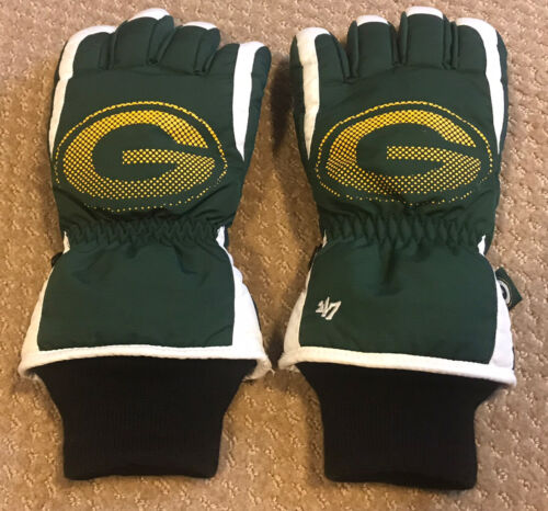 NWOT NFL GREEN BAY PACKERS Winter GLOVES - Size S/M Mens