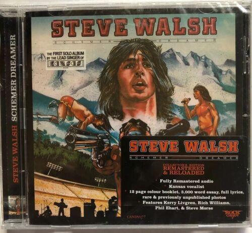 как выглядит Steve Walsh - Schemer Dreamer New CD Rmst фото