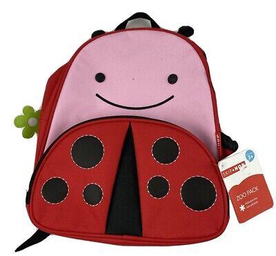 SKIP*HOP Zoo Packs Little Kid Toddler Preschool Backpacks in Ladybug