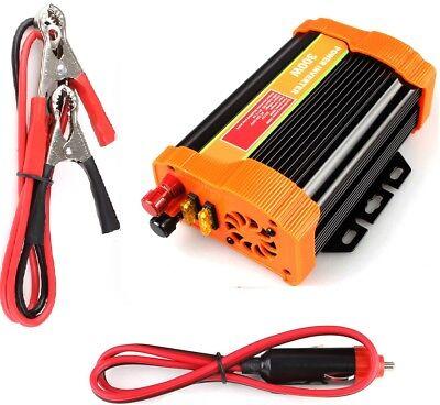 Spannungswandler Stromkonverter Wechselrichter 12V 300/600W Modifiziert Inverter