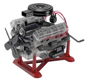 Revell Visible V8 Engine Plastic Model Kit 1 4 Scale