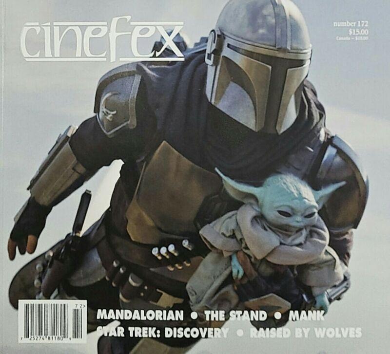 CINEFEX MAGAZINE - #172 MANDALORIAN UNCIRCULATED