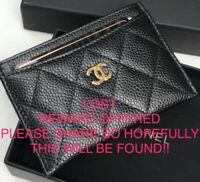 Lost in St.John's on Sat, June 2  Chanel Card Holder Wallet