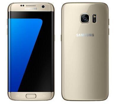 Samsung Galaxy S7 Edge in Gold Handy Dummy Attrappe - Requisit, Deko, Werbung