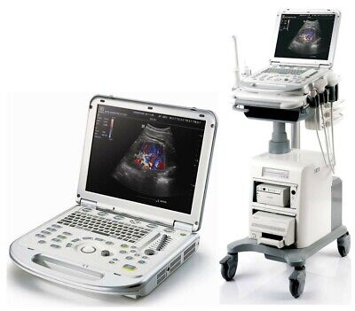Mindray M7 Portable Ultrasound W 2 Probes Ecg Travel Case And Umt300 Cart