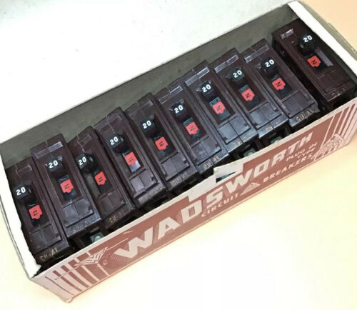 Bryant BR120 1 Pole 20A Breaker Old Style Labels **Free Shipping**