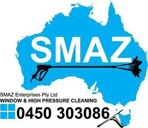 S.M.A.Z.  Window & High Pressure Cleaning Gold Coast Labrador Gold Coast City Preview