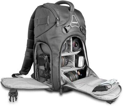 Mantona Rhodolit Photo SLR Camera Backpack / Bag with Rain Cover. NEW.