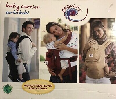Used Ergobaby Ergo Baby Black Camel Carrier Porta Bebe for sale  Shipping to South Africa