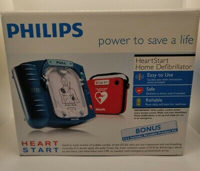 New Philips Heartstart Home Defibrillator M5068a