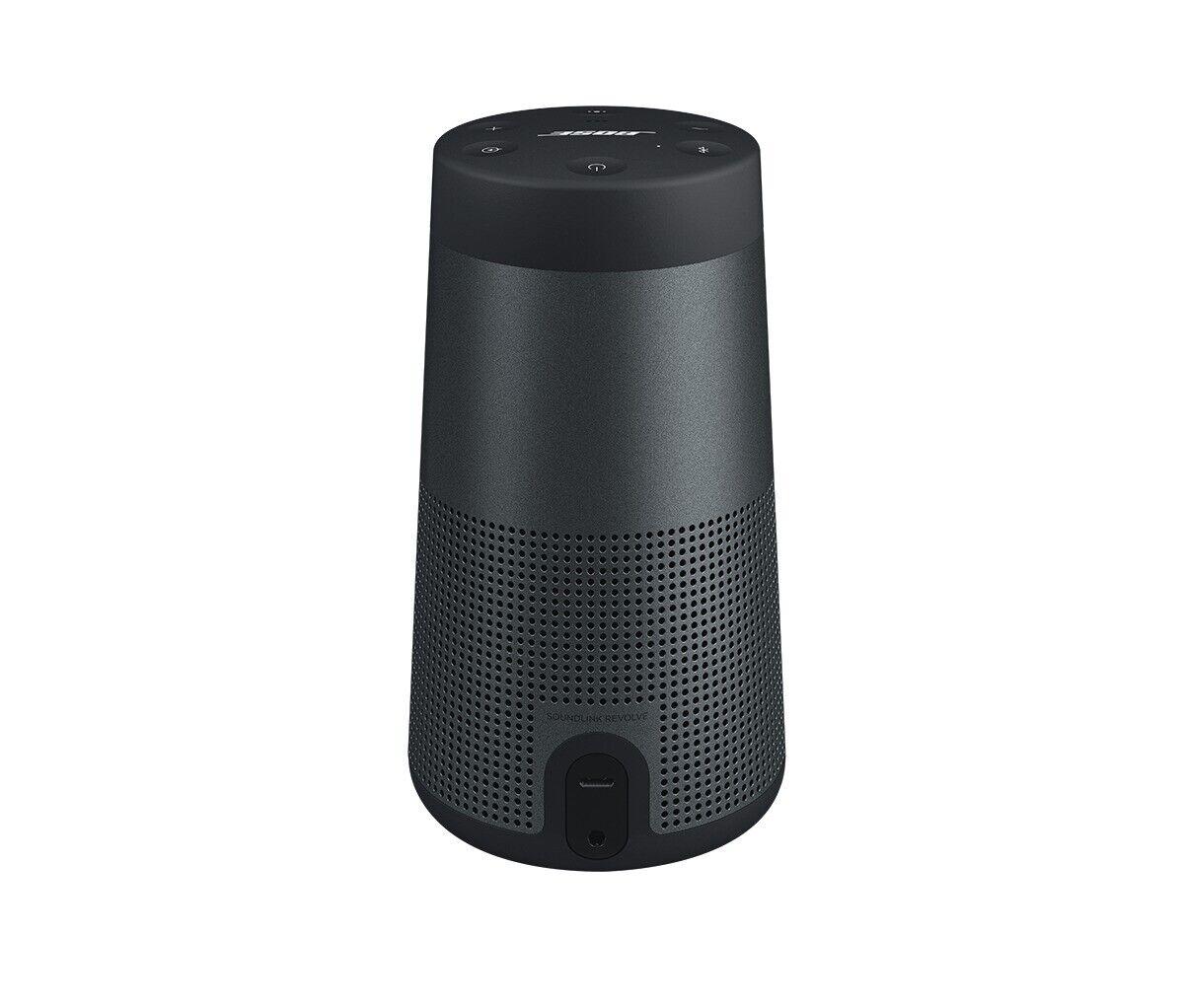 Bose SoundLink Revolve Bluetooth Speaker Triple Black