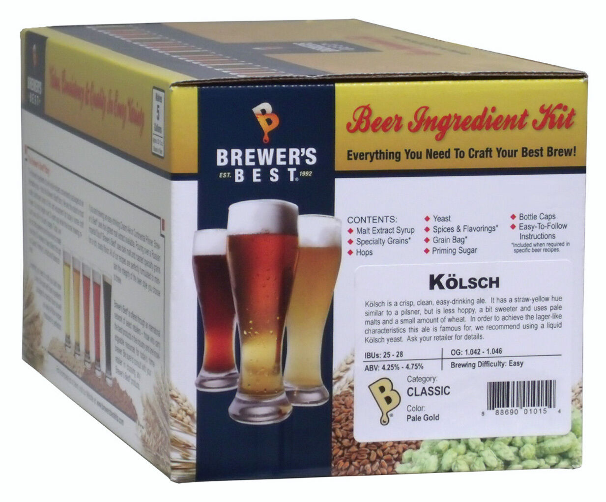 $29.95 - Brewer's Best 5 Gallon Beer Making Ingredient Kit - Kolsch