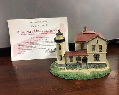 Danbury Mint  Admiralty Head Lighthouse  Historic American Lighthouses
