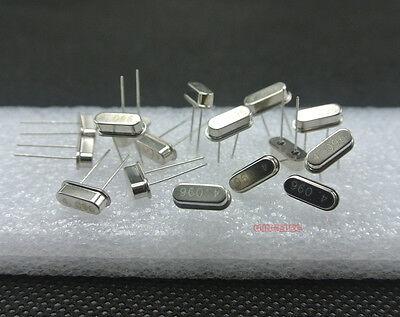 60pcs 30value Crystal Oscillator Hc-49sar26at38 Assortment Assorted Kit