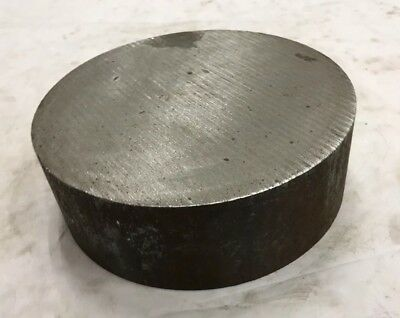 6 14 Diameter 4340 Annealed Steel Round Bar Stock - 6.25 X 2.125 Length