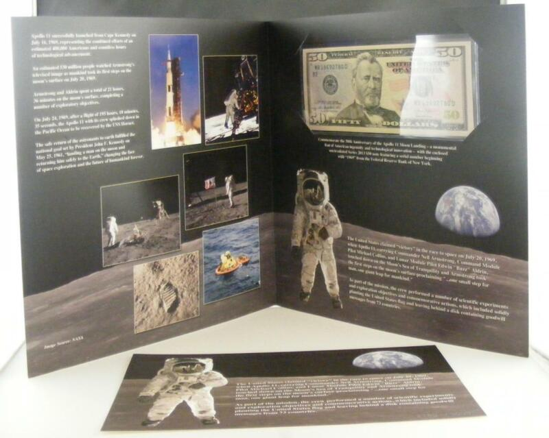 Apollo 11 50th Anniversary Currency Set   unsealed