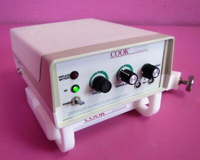 Cook Dp-m150 Portable Vascular Ultrasonic Doppler Blood Flow Monitor Pole Clamp
