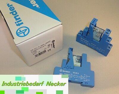 49.61.7.024.0050 Finder Industrie Koppelrelais 24V DC 1 Wechsler 16A - Aktion