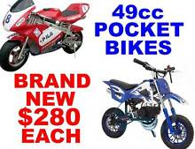 49cc POCKET BIKES... NEW Capalaba Brisbane South East Preview