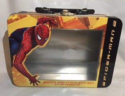 Marvel Spiderman 2 Metal Lunchbox Tin