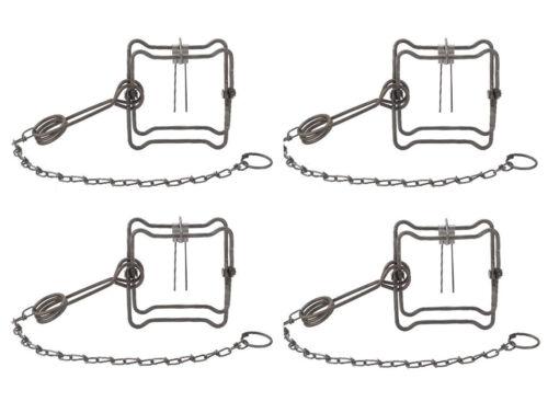 """(4 Traps) DUKE 110 Body Grip Traps - #0400 - For Mink, Muskrat & Weasel - 4.5"""""""