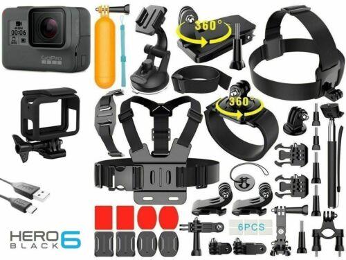 GoPro HERO6 Black Waterproof 4K Sports Action Camera 12MP Wide Angle Hero 6