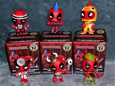 Deadpool Mystery Minis, Viking, Chicken, Robin Hood, Mohawk, Doctor, U Pick