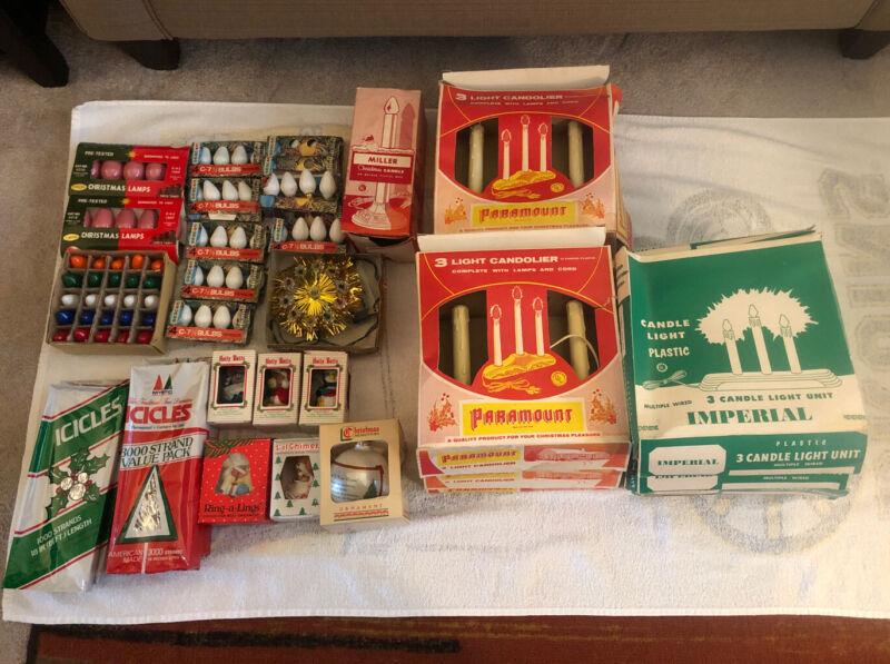 Lot of Vintage Christmas Lights