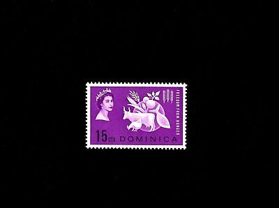 DOMINICA - 1963 - QE II - FREEDOM FROM HUNGER - 181 - MINT - MNH SINGLE  - $1.00