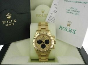 """Rolex Daytona 116528 """"Paul Newman"""" with Box & Papers (2002)"""