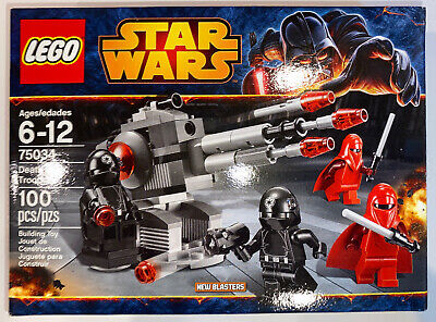 LEGO Star Wars Set # 75034 Death Star Troopers - Sealed New in Box - RETIRED HTF