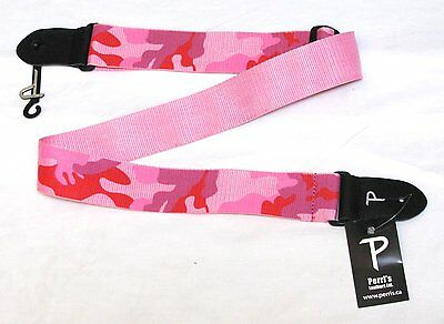PERRI'S Pink Camouflage Guitar Strap camo - NEW