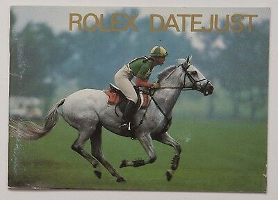 Genuine Rolex DATEJUST Vintage 1993 English Manual Booklet Papers Book Guide