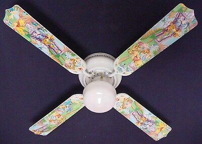 "New WINNIE POOH PIGLET EEYORE TIGGER Ceiling Fan 42"""