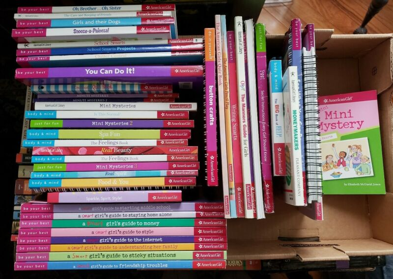 Lot of 10 American Girl Books ~ Pick from List