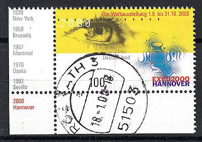 BRD 2000 Mi. Nr. 2089 Gestempelt Eckrand LUXUS!!! (23273)