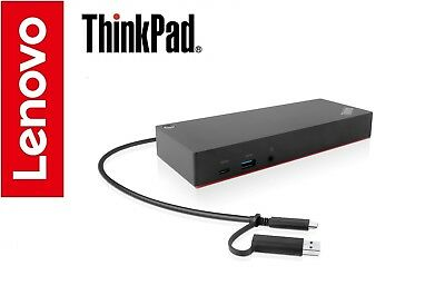 Lenovo ThinkPad Hybrid USB-C w/ USB 3 Dock X1 Carbon Yoga Tablet T480s T580 P52s