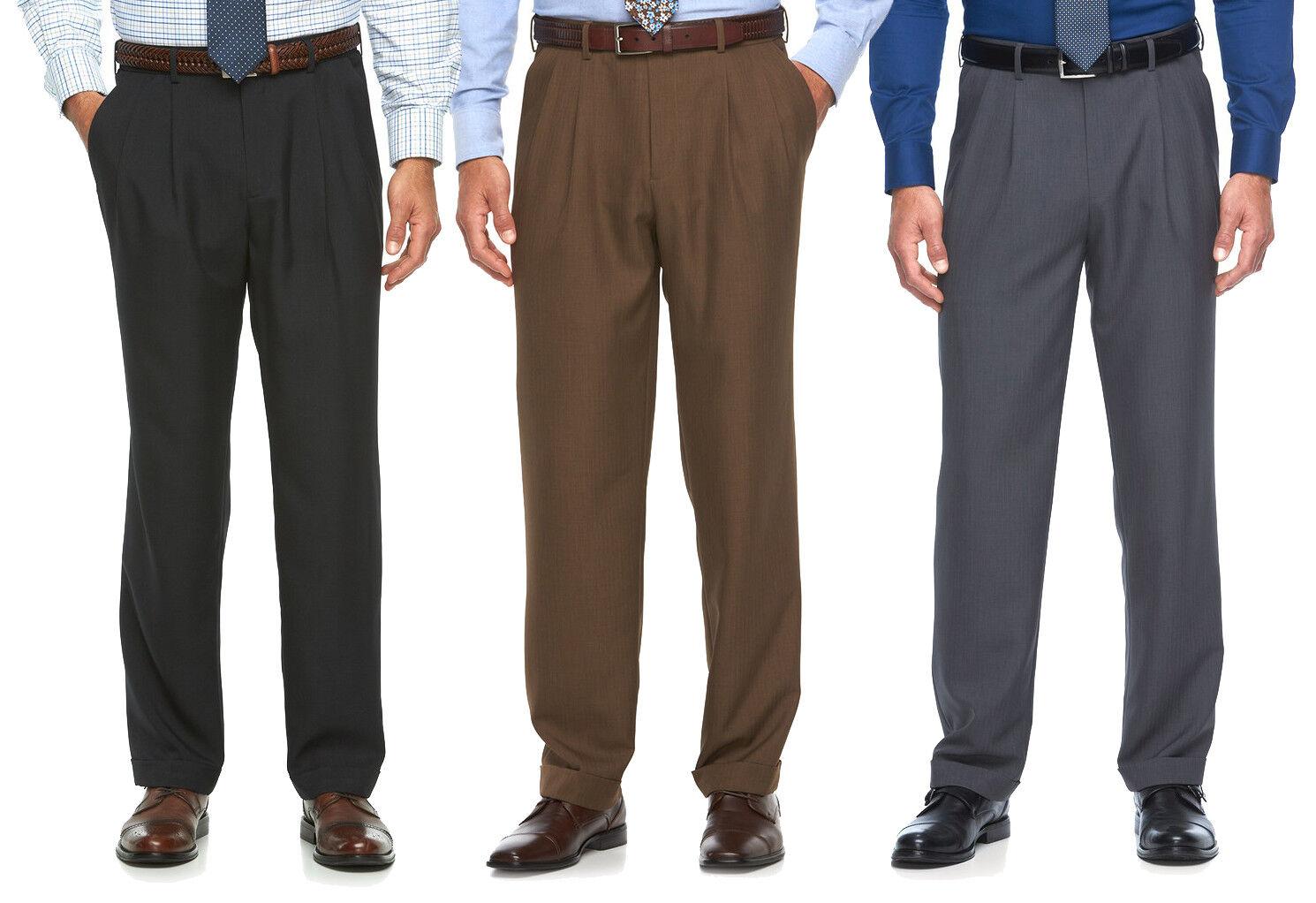 New Croft&Barrow Men's Comfort Opticool Pleated Dress Pants