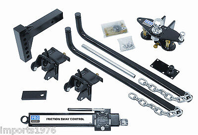 Pro Series 49903 Weight Distribution Hitch with Sway Control 1,000LB / 10,000LB