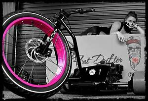 DRIFT TRIKE GANG MOTORIZED FAT DRIFTER TRIKE by LOVETT INDUSTRIES Melbourne CBD Melbourne City Preview