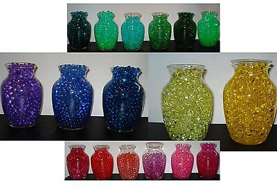 Water Beads -29 different colors -Vase filler fresh or Silk Floral - Water Beads - Floral Water Beads