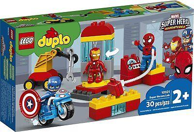 Lego Duplo 10921 Marvel Super Hero Adventures 2+ NEW Super Heroes Lab 30 Pieces